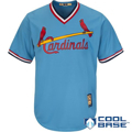 Picture of St. Louis Cardinals Majestic Cooperstown Cool Base Team Jersey - Light Blue