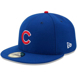 Picture of Chicago Cubs New Era  Authentic Collection On-Field Game 59FIFTY Fitted Hat - Royal