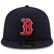 Picture of Boston Red Sox New Era Game Authentic Collection On-Field 59FIFTY Fitted Hat - Navy