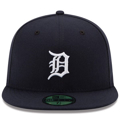 Picture of Detroit Tigers New Era Home Authentic Collection On-Field 59FIFTY Fitted Hat - Navy