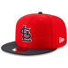 Picture of Men's St. Louis Cardinals New Era Red/Navy 2019 Batting Practice 59FIFTY Fitted Hat