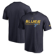 Picture of St. Louis Blues Fanatics Branded Authentic Pro Rinkside Collection Prime T-Shirt – Blue
