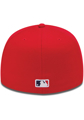 Picture of St. Louis Cardinals New Era Team Superb Low Profile 59FIFTY Fitted Hat - Red