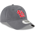 Picture of Men's St. Louis Cardinals New Era Graphite Core 49FORTY Fitted Hat