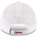 Picture of Men's St. Louis Cardinals New Era White Perforated Pivot 9TWENTY Adjustable Hat