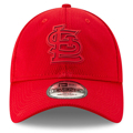 Picture of Men's St. Louis Cardinals New Era Red 2019 Clubhouse Collection 9TWENTY Adjustable Hat