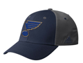 Picture of St Louis Blue Adidas NHL Coaches SL Flex Fit Slouch Hat