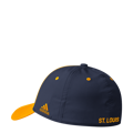 Picture of St Louis Blue Adidas NHL Coaches SL Flex Fit Slouch Yellow Hat