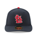 Picture of Men's St. Louis Cardinals New Era Navy Alternate Authentic Collection On-Field Low Profile 59FIFTY Fitted Hat