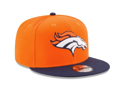 Picture of New Era 9Fifty 2 Tone NFL Denver Broncos V2 Team Snapback Hat