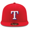 Men's Texas Rangers New Era Red Alternate Authentic Collection On-Field 59FIFTY Fitted Hat