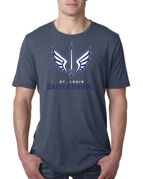 Picture of St. Louis Battlehawk Next Level Unisex Poly/Cotton Crew Tshirt NL6200