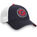 St. Louis Blues Fanatics Branded Authentic Pro Americana Trucker Adjustable Snapback Hat - Navy/White