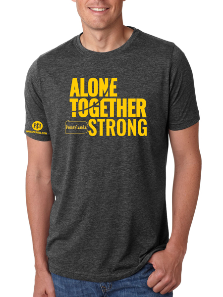 Pennsylvania Alone Together Stay Strong Next Level Tee