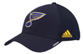Adidas St. Louis Blues Coach STR Navy Adjustable Hat