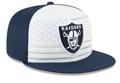 Las Vegas Raiders New Era 2019 NFL Draft Spotlight 59FIFTY Fitted Hat - White/Navy